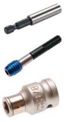 Bit halters & adapters