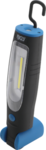 COB-LED-Werkstattleuchte mit Magnet und Haken