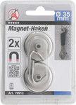 Magnethaken um Durchmesser 34 mm 2 Stck