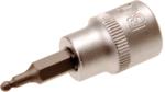 Bit-Einsatz Antrieb Innenvierkant 10 mm (3/8) Innensechskant mit Kugelkopf