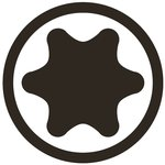 Bit Antrieb Außensechskant (1/4) T-Profil (für Torx)