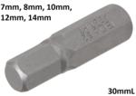 Bit Antrieb Außensechskant 8mm (5/16) Innensechskant