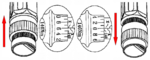 Drehmomentschlüssel-Satz 40 - 210 Nm 11-tlg