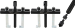 Außen-/Innenabzieher, 2-armig 50 - 145 mm / 70 - 170 mm
