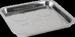 Magnet-Haftschale Edelstahl 265 x 290 mm