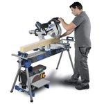 Klapp-Schreibtisch / Rollenbahn - 2400 mm