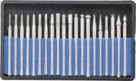 Diamant-Schleif- und Fräswerkzeug 20-tlg