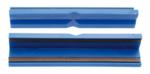 Schraubstock-Schutzbacken Kunststoff Breite 125 mm 2-tlg