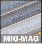 Inverter-Schweißgerät Mig-Mag-Flux 150 a - 1,2 mm