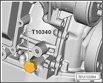Kurbelwellen-Arretierung VAG FSI / TFSI, aus Art. 62625