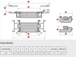 Achsfreiheber für 4-Säulenhebebühne 2 Tonnen