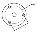 Elektrische Gewindeschneidmaschine m2 bis m12 - 915 mm