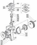 Ölfreier Kompressor 8 bar - 6 Liter, 385x170x465mm
