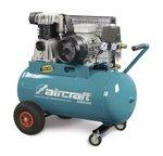 Riemengetriebener Ölkompressor 2 Zylinder 10 bar - 100 Liter