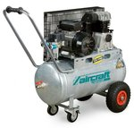 Riemenbetriebener Ölkompressor verzinkter Kessel 10 bar - 50 Liter
