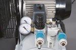 Riemenbetriebener Ölkompressor verzinkter Kessel 10 bar - 100 Liter