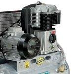 Riemengetriebener Ölkompressor verzinkter Kessel 10 bar - 100 Liter -99kg