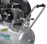 Riemenbetriebener Ölkompressor verzinkter Kessel 13 bar - 75 Liter