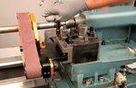 Schleifmaschine für Drehmaschine - automatisches Führungssystem 50x915mm