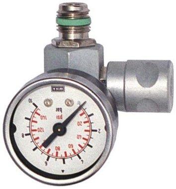 Druckregler inline mit Manometer