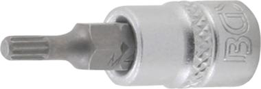 Bit-Einsatz Antrieb Innenvierkant 6,3 mm (1/4) Innenvielzahn (fur XZN)