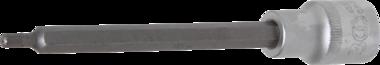 Bit-Einsatz Lange 140 mm Antrieb Innenvierkant 12,5 mm (1/2) Innenvielzahn (fur XZN)