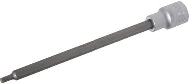 Bit-Einsatz Lange 200 mm Antrieb Innenvierkant 12,5 mm (1/2) Innenvielzahn (fur XZN)