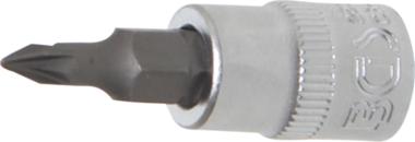 Bit-Einsatz Antrieb Innenvierkant 6,3 mm (1/4) Kreuzschlitz