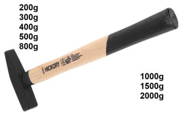 Schlosserhammer Hickory-Stiel DIN 1041