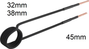 Induktions-Spule fur Induktionsheizgerat gerade Bauform