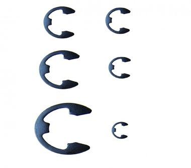300-teiliges metrisches E-Clip-Sortiment, 1,5-22 mm