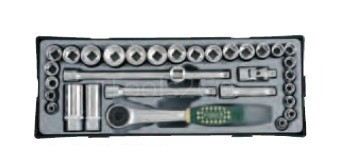3/8 Steckschlüsselsatz 32 tlg