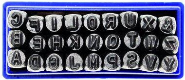 Einschlagbuchstaben 3 mm to 10 mm