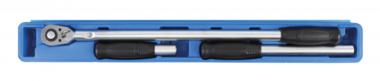 Umschaltknarre, verlängerbar Abtrieb Außenvierkant 12,5 mm (1/2) 220 - 360 - 565 mm