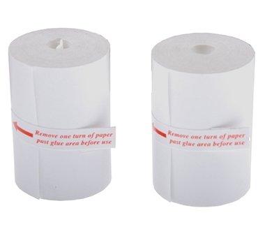 2 Stück Ersatz-Papierrollen für Drucker BGS 2196