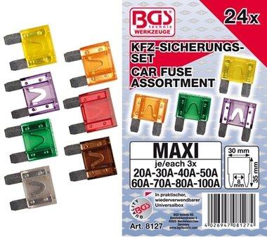 KFZ-Maxi-Sicherungssatz, 24-tlg.