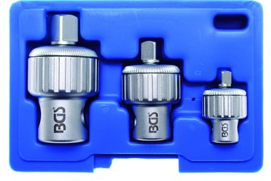 3-teiliges Ratschen-Adapter-Set