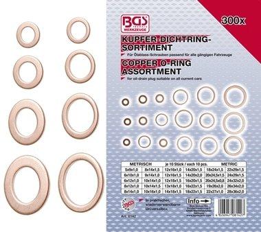 300-delige Koper O - Ring Assortiment
