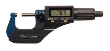 Digital-Bügelmessschraube 0 - 25 mm
