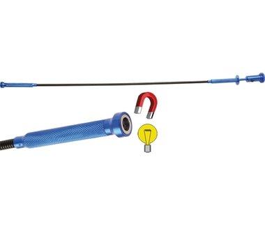 Krallengreifer-Magnetheber-Leuchte-Kombiwerkzeug 615 mm