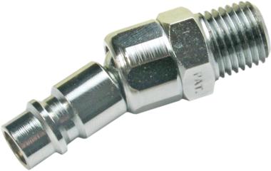 Gewindestecknippel 6,3 mm (1/4) Außengewinde