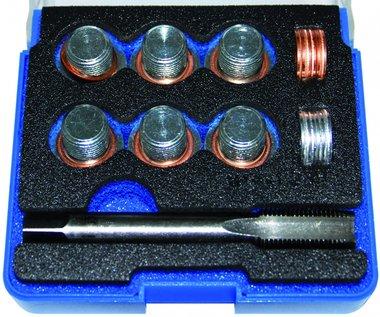 Reparatursatz für Öl-Ablass-Gewinde M14 x 1,25 25-tlg.