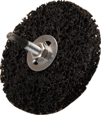 Abrasiv-Schleifscheibe schwarz Ø 100 mm Aufnahmebohrung 16 mm