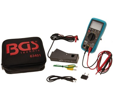 KFZ Digital-Multimeter mit USB Schnittstelle