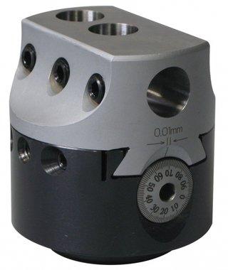 Universal-Bohrkopf ohne automatische Fütterung KKC4, 100 mm