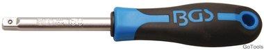 Drehgriff Abtrieb Außenvierkant 6,3 mm (1/4) 150 mm