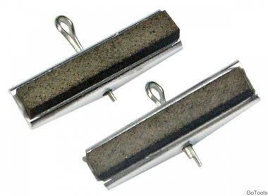 2 spare slijpen hoofden voor kunst. 1155, 30 mm heads, grain   220