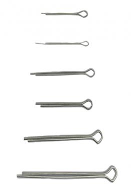 Splinte-Sortiment Ø 1,6 - 4,0 mm 555-tlg.