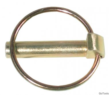 Klappsplinte, Bolzen-Ø 9,5 mm, 2-tlg.
