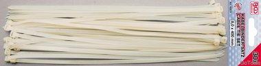 Kabelbindersortiment weiß 8,0 x 400 mm 30 Stück